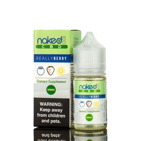600mg Really Berry CBD - Naked 100 CBD