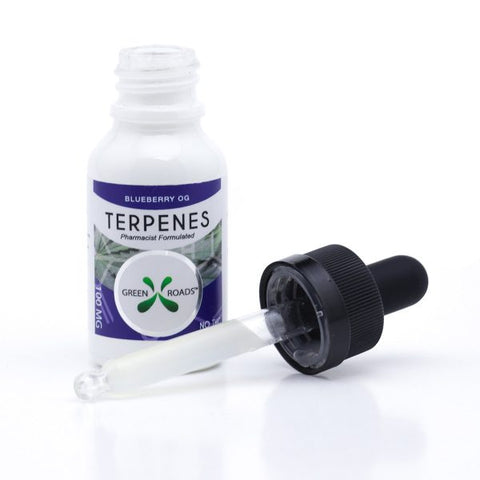 100mg Blueberry OG CBD Terpenes Oil Tincture 15ml - Green Roads