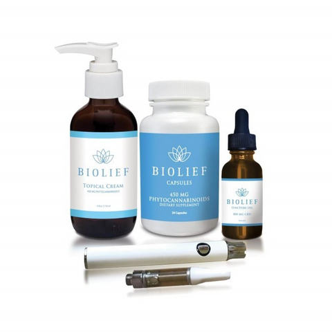 Mega CBD Full Spectrum Bundle - Biolief