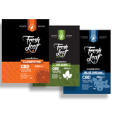 250mg CBD Vape Cartridge Sampler 3-Pack Bundle 1ml - FreshLeaf CBD