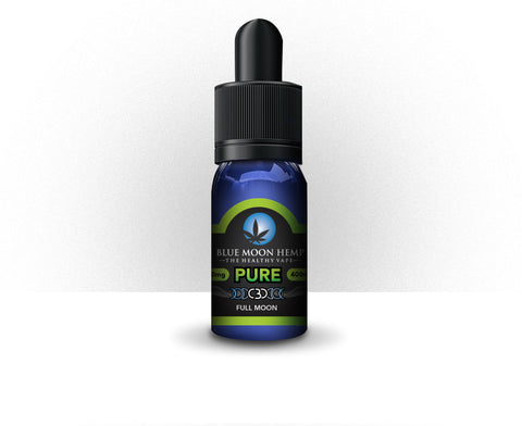 400mg Pure CBD Vape 30ml - Blue Moon Hemp