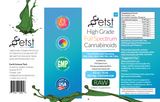 657mg High Grade Full Spectrum CBD Raw Oil 15ml - ETST
