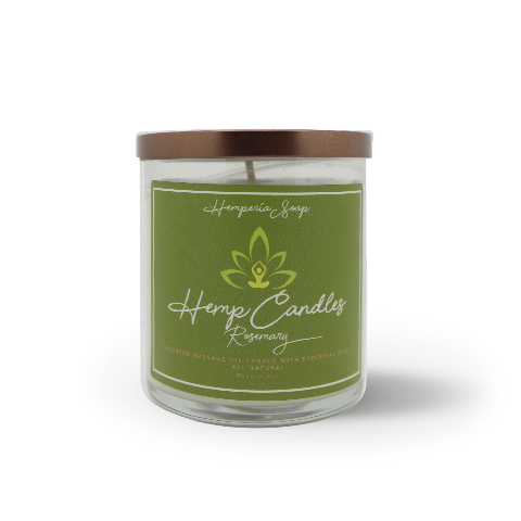 Scented Hemp Candle - Hemperia