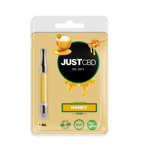 200mg CBD Oil Cartridge (Honey Flavor) - JustCBD