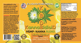 250mg CBD Hemp+Kanna Blend Lemon Cream Vape/Drip 30ml - KannaBidioiD *BOGO*