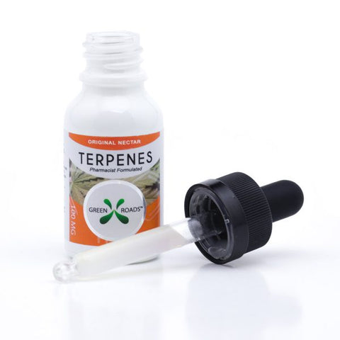 100mg Original Nectar CBD Terpenes Oil Tincture 15ml - Green Roads