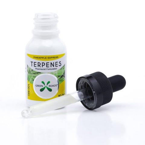 100mg Pineapple Express CBD Terpenes Oil Tincture 15ml - Green Roads