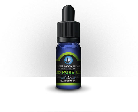 100mg Pure CBD Vape 30ml - Blue Moon Hemp