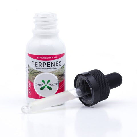 100mg Strawberry AK CBD Terpenes Oil Tincture 15ml - Green Roads