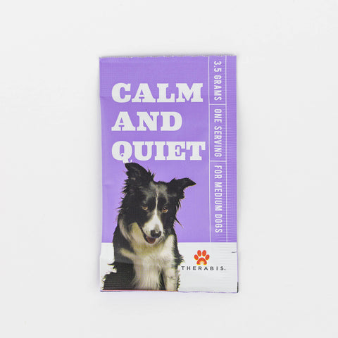 3mg CBD Calm and Quiet for Medium Dogs 30 Pk/Box - Therabis