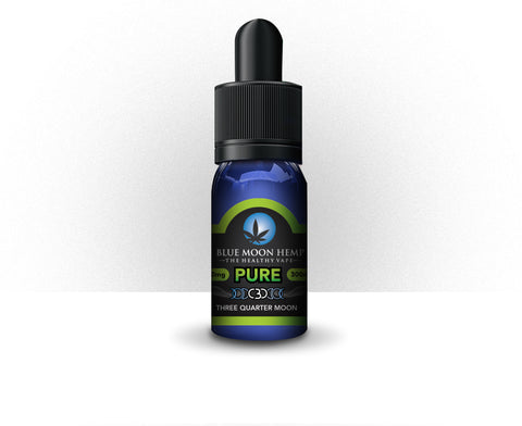 300mg Pure CBD Vape 30ml - Blue Moon Hemp