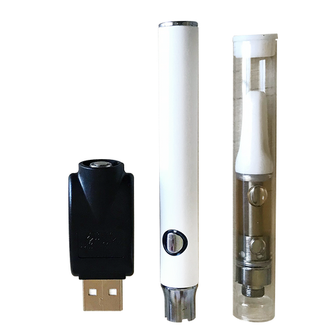 87.5mg  Unflavored CBD Vape Starter Kit  1ml - Biolief