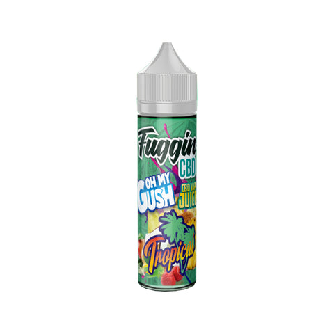 100mg Tropical CBD Vape Juice 60ml - Fuggin CBD
