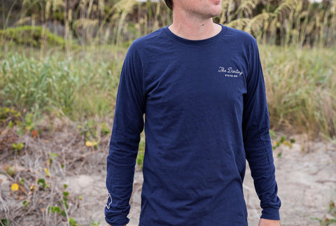 The Darling Long Sleeve- Navy