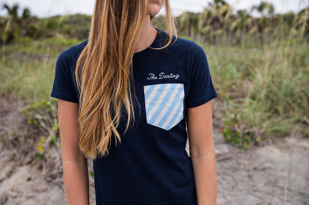 The Darling Stripe Pocket- Women's
