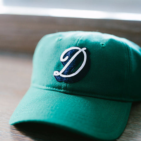 "The Darling ""D"" Wool Cap Green"