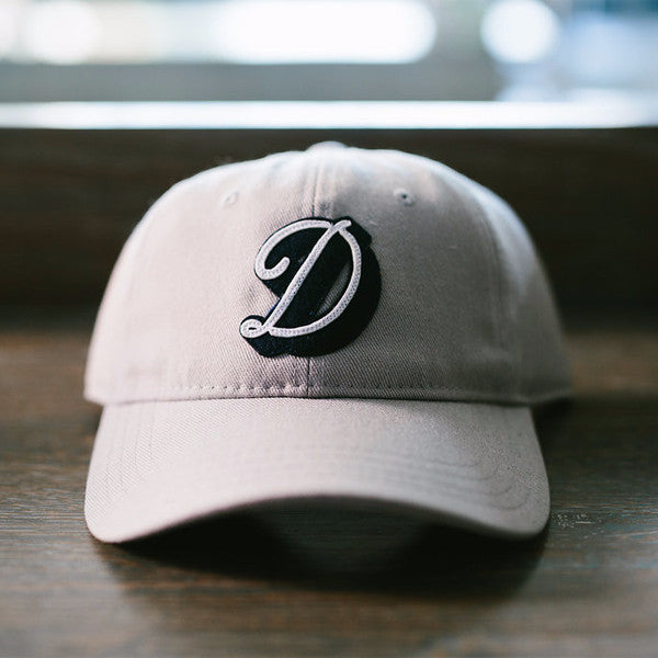 "The Darling ""D"" Wool Cap Grey"