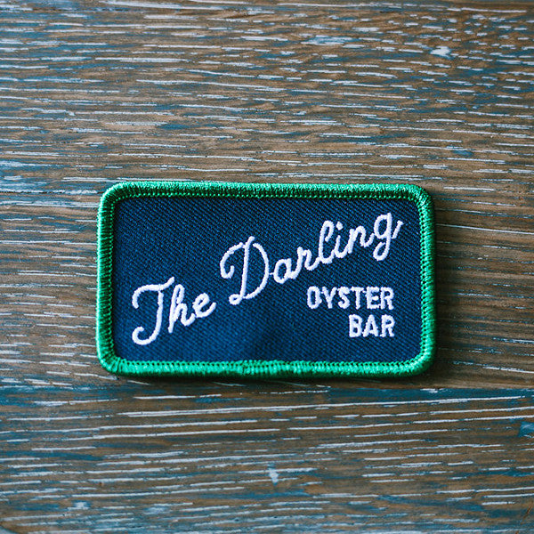 The Darling Patch Script Logo