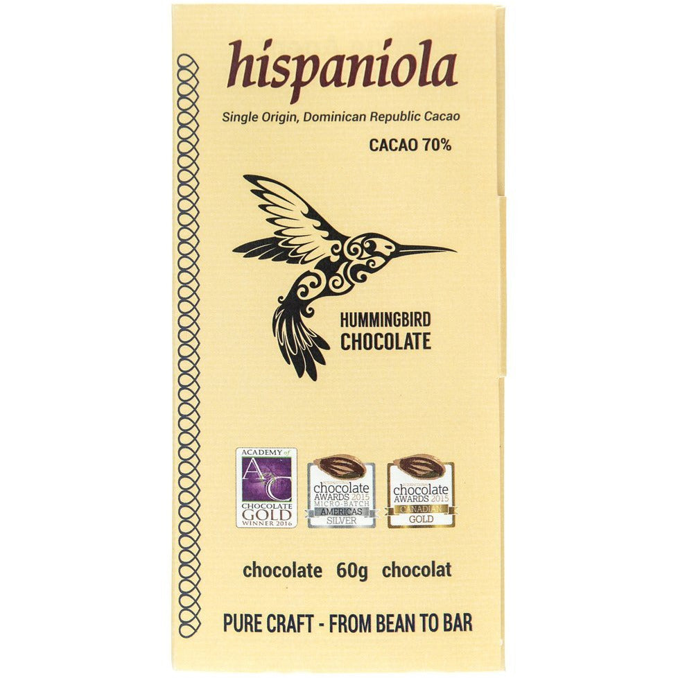 Hummingbird Chocolate - Hispanola 70%