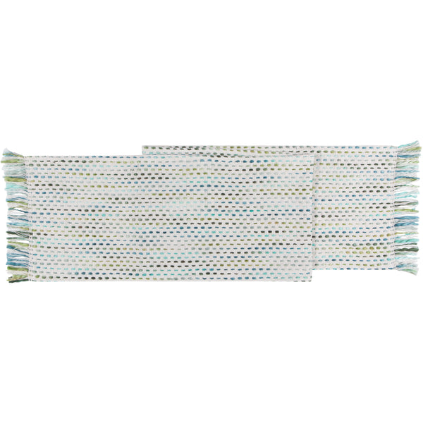 Twirl Marine Table Runner