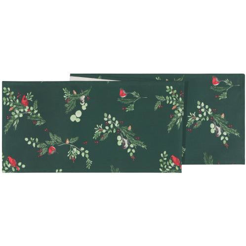 Forest Birds Table Runner