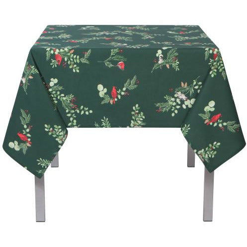 Winter Birds Tablecloth