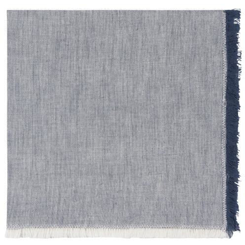 Chambray Heirloom Napkin in Midnight