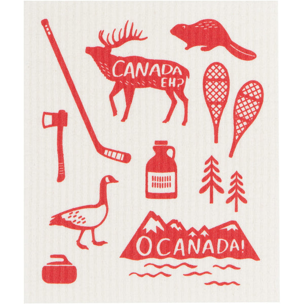 Swedish Dishcloth - O'Canada
