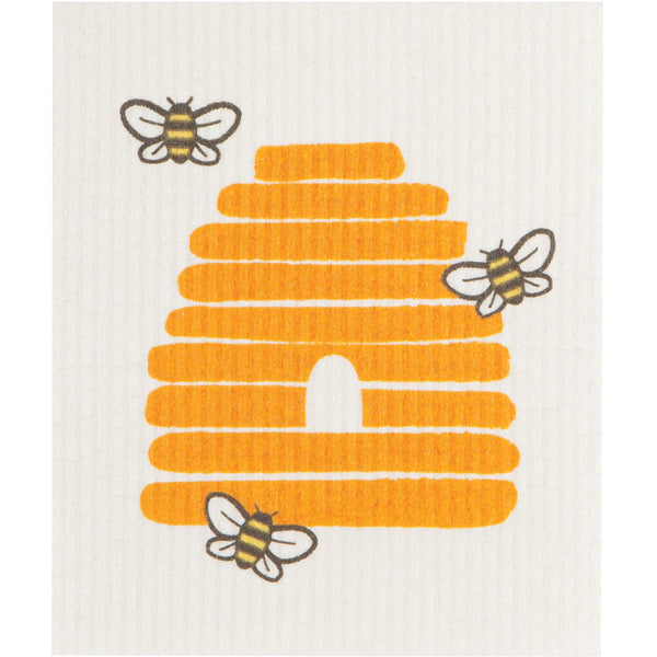 Swedish Dishcloth - Bees