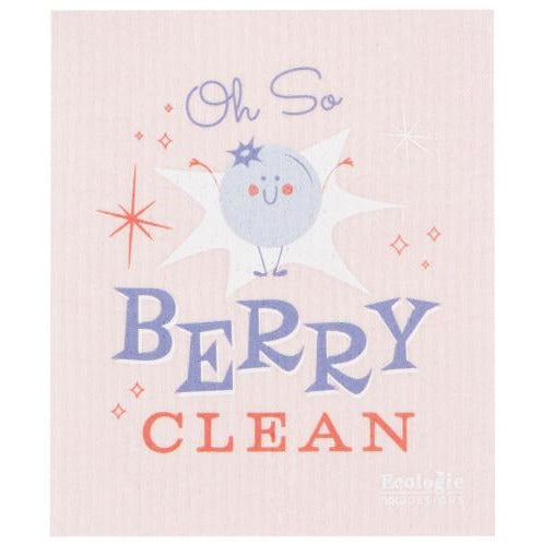 Swedish Dishcloth Cheeky Berry