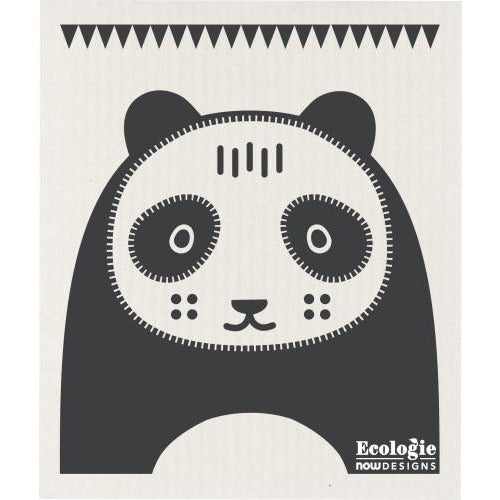 Swedish Dishcloth Poppy Panda