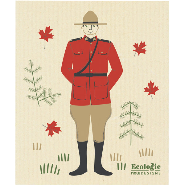 Swedish Dishcloth - Mountie