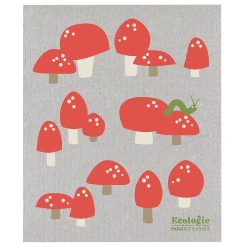 Swedish Dishcloth Totally Toadstools