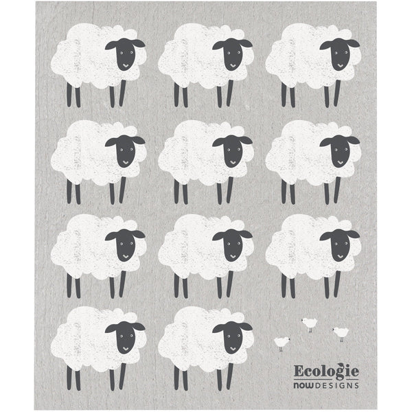 Swedish Dishcloth - Counting Sheep