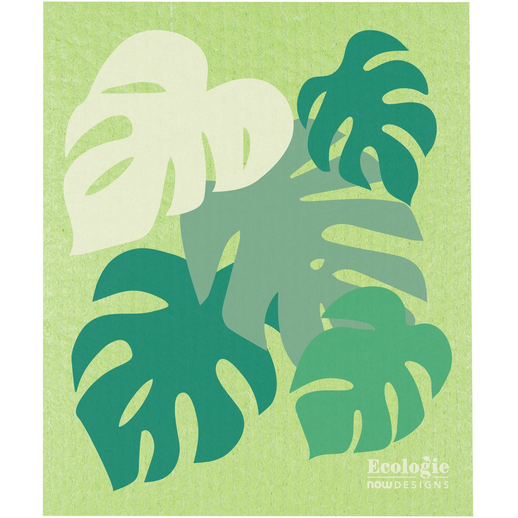 Swedish Dishcloth - Monstera