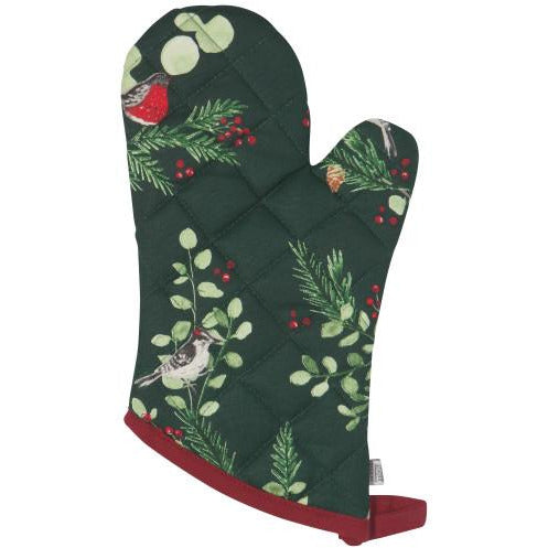 Forest Birds Oven Mitts