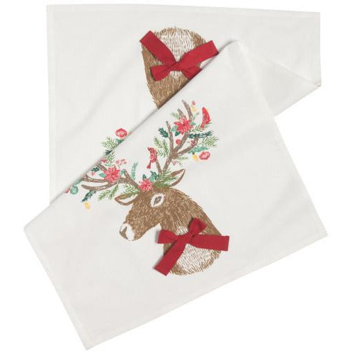 tea towel dasher deer