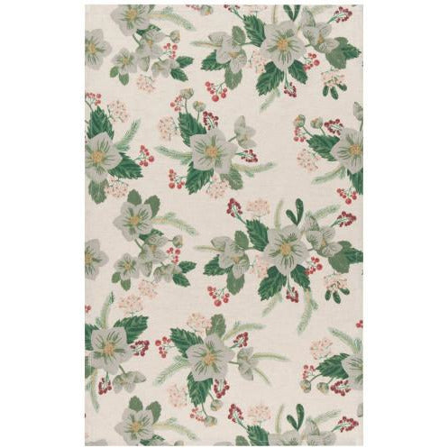 Winterblossom Tea Towel