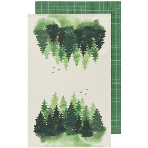 Tea Towels set in Woods