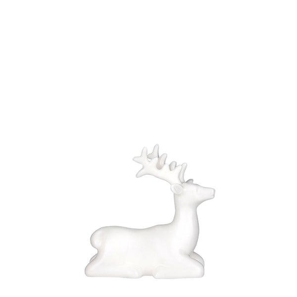 Deer Decoration White