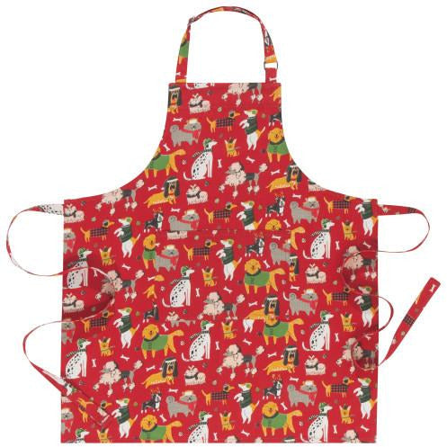 Yule Dogs Chef's Apron