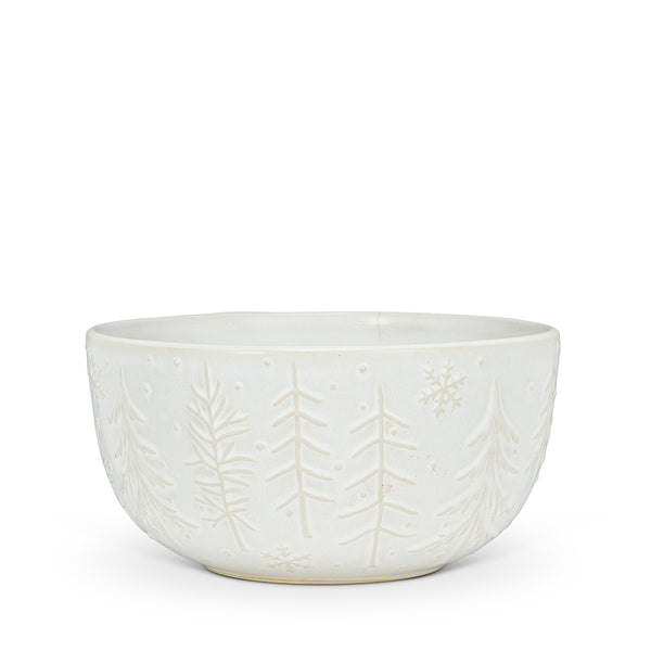 Tree and Snowflake Bowl