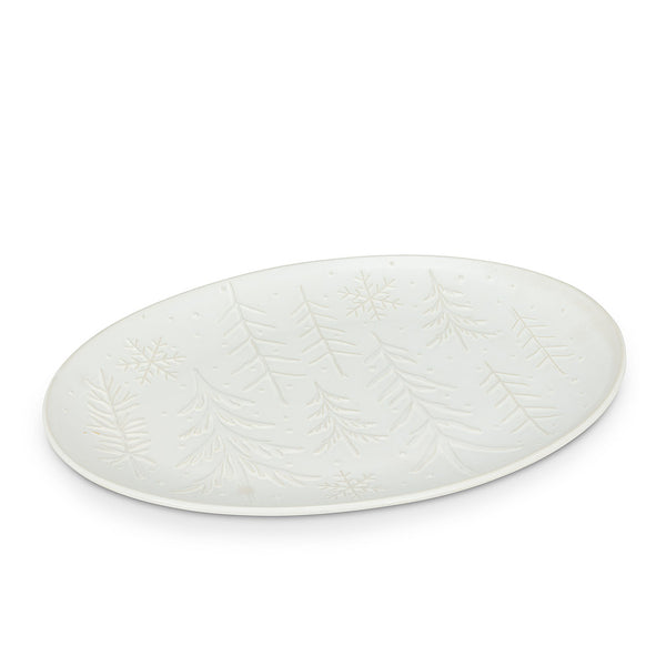 Tree and Snowflake Platter