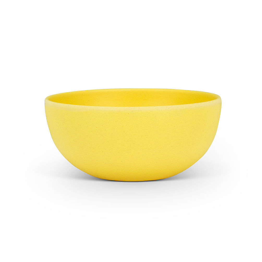 Small Yellow Bamboo Bowl