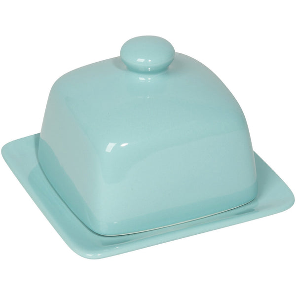 Square Eggshell Butter Dish