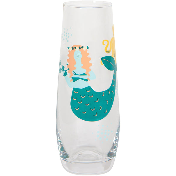 Mermaid Champagne Glass