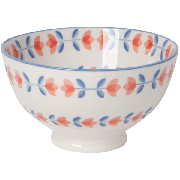 Small Blue Tulip Bowl