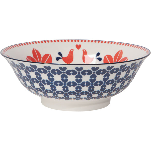 "8"" Red Bird Bowl"