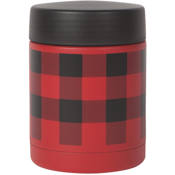 Buffalo Check Insulated Food Jar