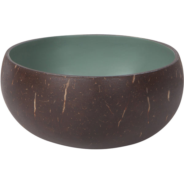 Green Slate Coconut Bowl